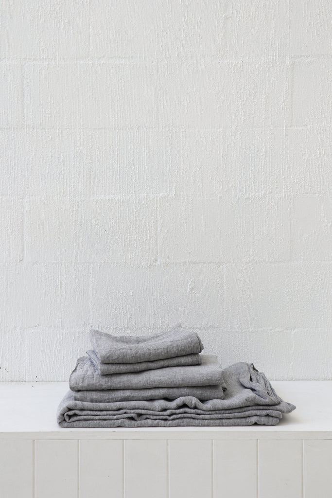 Major Minor Fitted Sheet - Ash