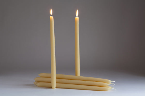 Northern Light Beeswax Dinner Candle set of 2