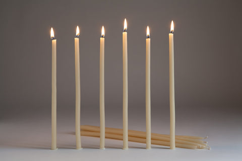 Northern Light Beeswax Taper Candle set of 6