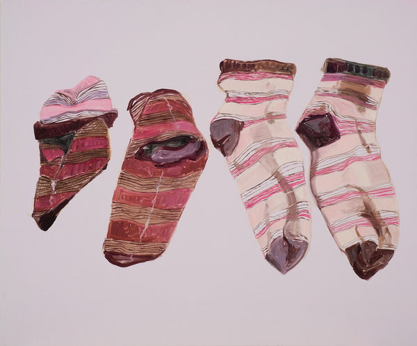 Jess Lucas, Droppings, 2011, 50 x 60cm oil on board
