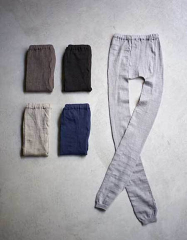 Fog Linen Work Linen Leggings