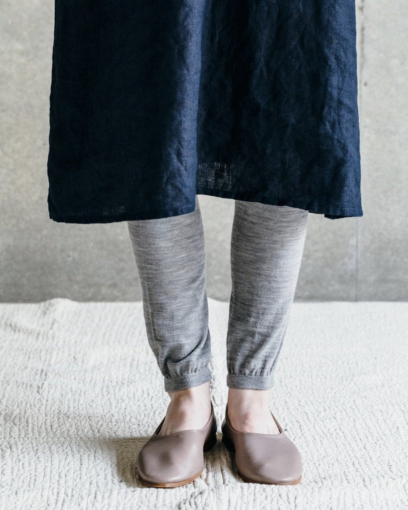 Fog Linen Work Lightweight Wool Leggings