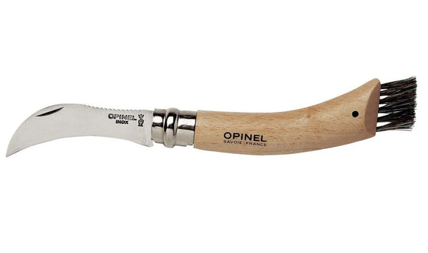 Opinel Mushroom Knife with Brush