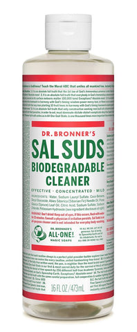 Dr Bronner Sal Suds liquid cleaner