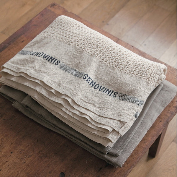 Fog Linen Work cotton blanket