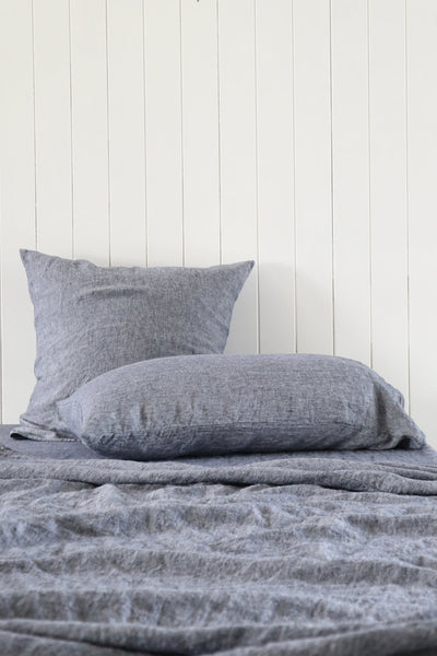 Major Minor Pillowcase Set - Slate