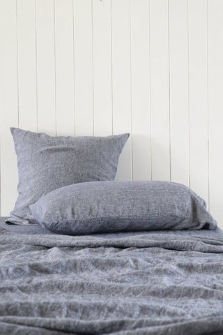 Major Minor Australian Made Pillowcase Set - Slate