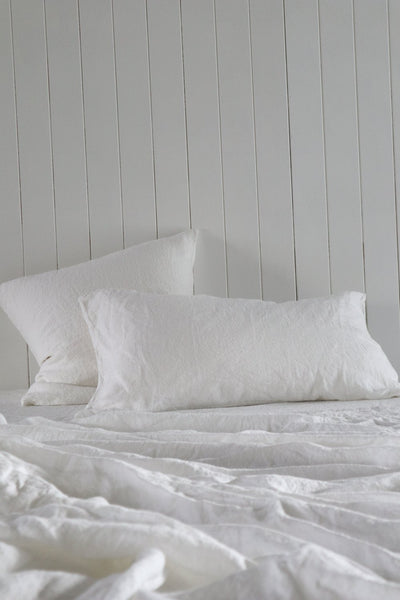 Major Minor Pillowcase Set - True white