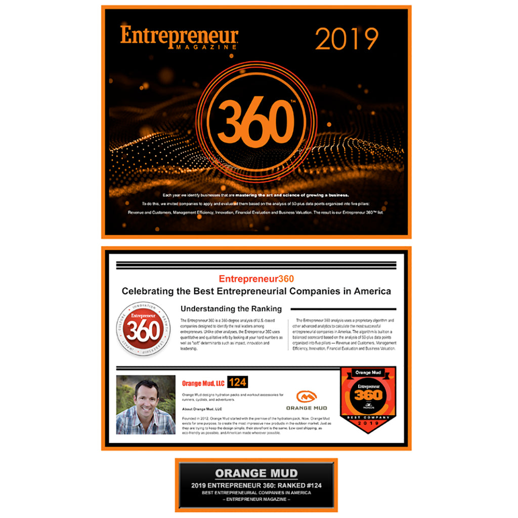 Round Rock, TX (November 4th, 2019) – Orange Mud, LLC and CEO Josh Sprague, makes the Entrepreneur 360 list for 2019, by Entrepreneur Magazine.