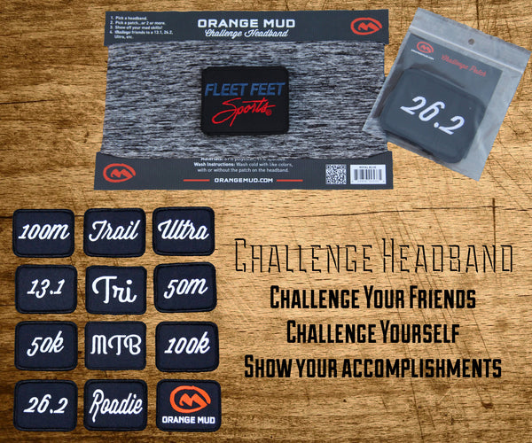 Challenge Headband by Orange Mud