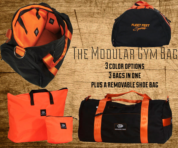 Modular Gym Bag by Orange Mud