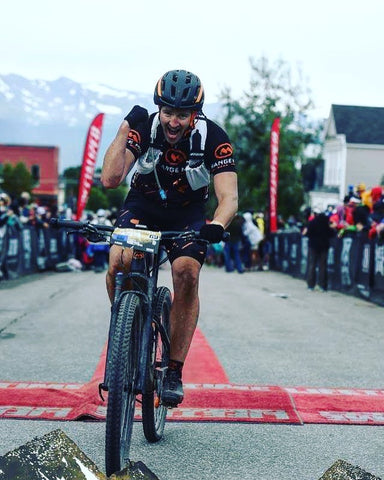 Leadville 100 MTB finish