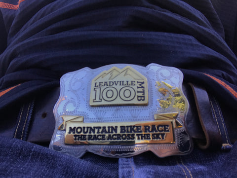 Leadville 100 mile buckle