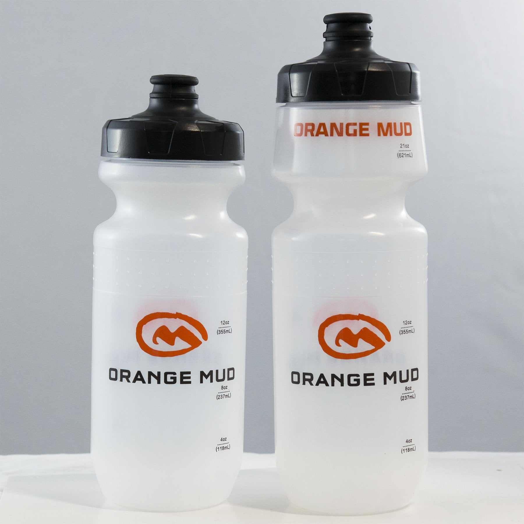 Orange Mud 21 and 24 oz Running Water Bottle