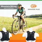 Gear Vest 2L (1L Bladder 2L Total Cargo): Ideal For Road And Trail Running Mountain Biking And Triathlon. - Black-Green - Packs