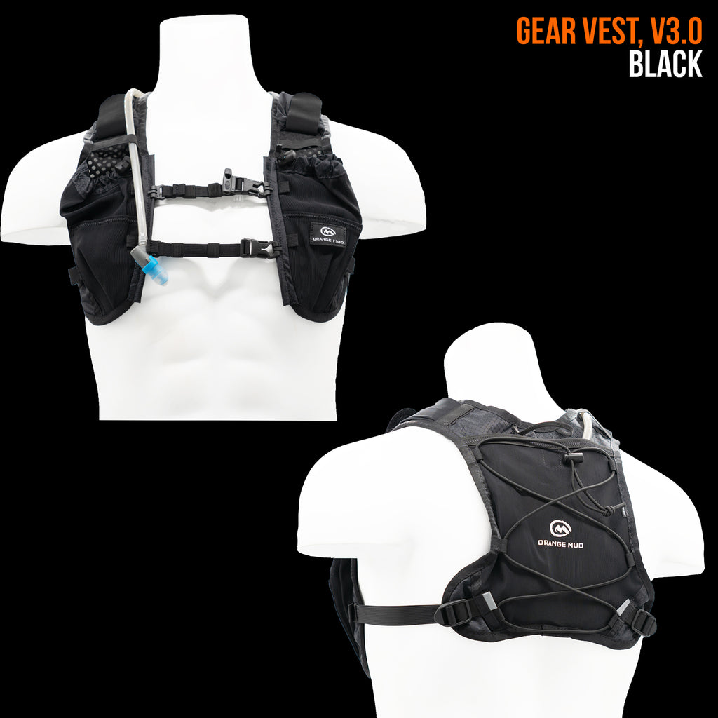 Gear Vest, Version 3.0: Ideal for running, biking, triathlon