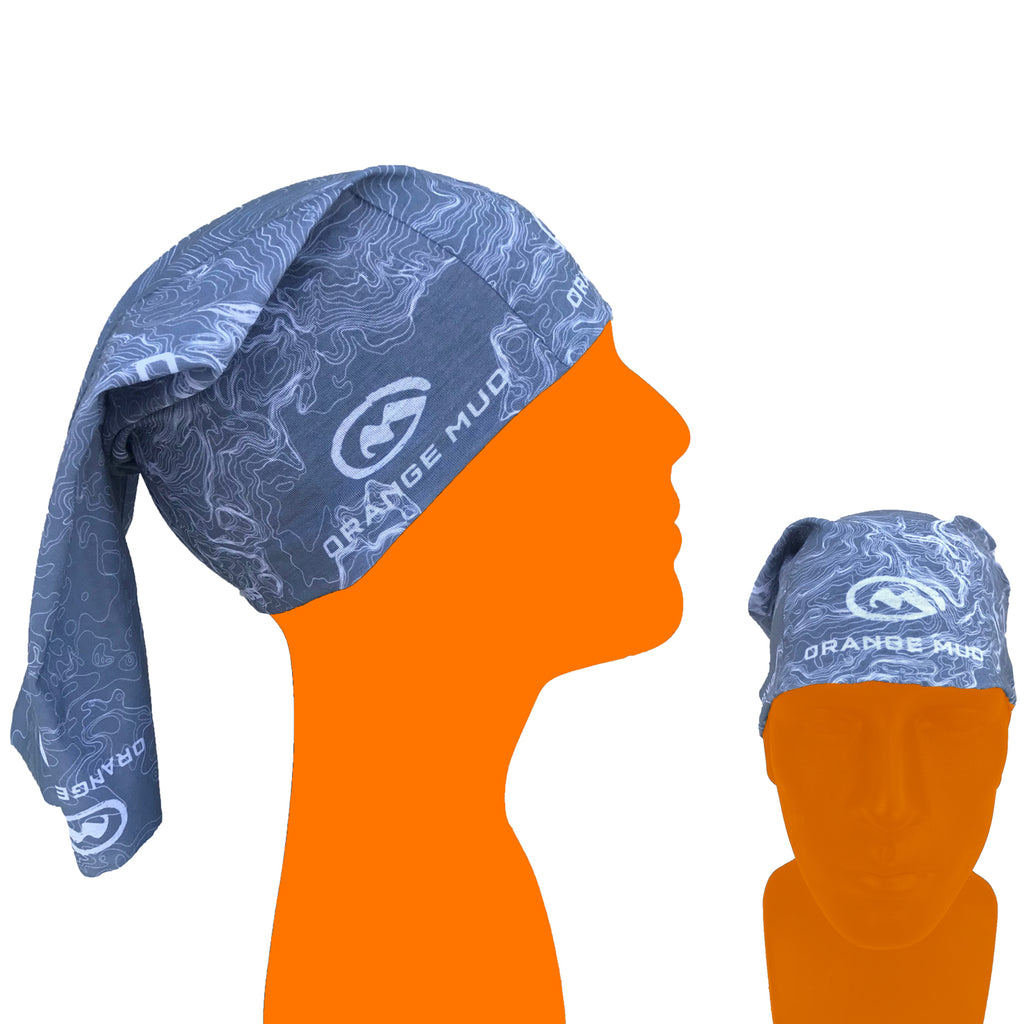 "Gray Multifunctional Headware ""aka neck gator"""