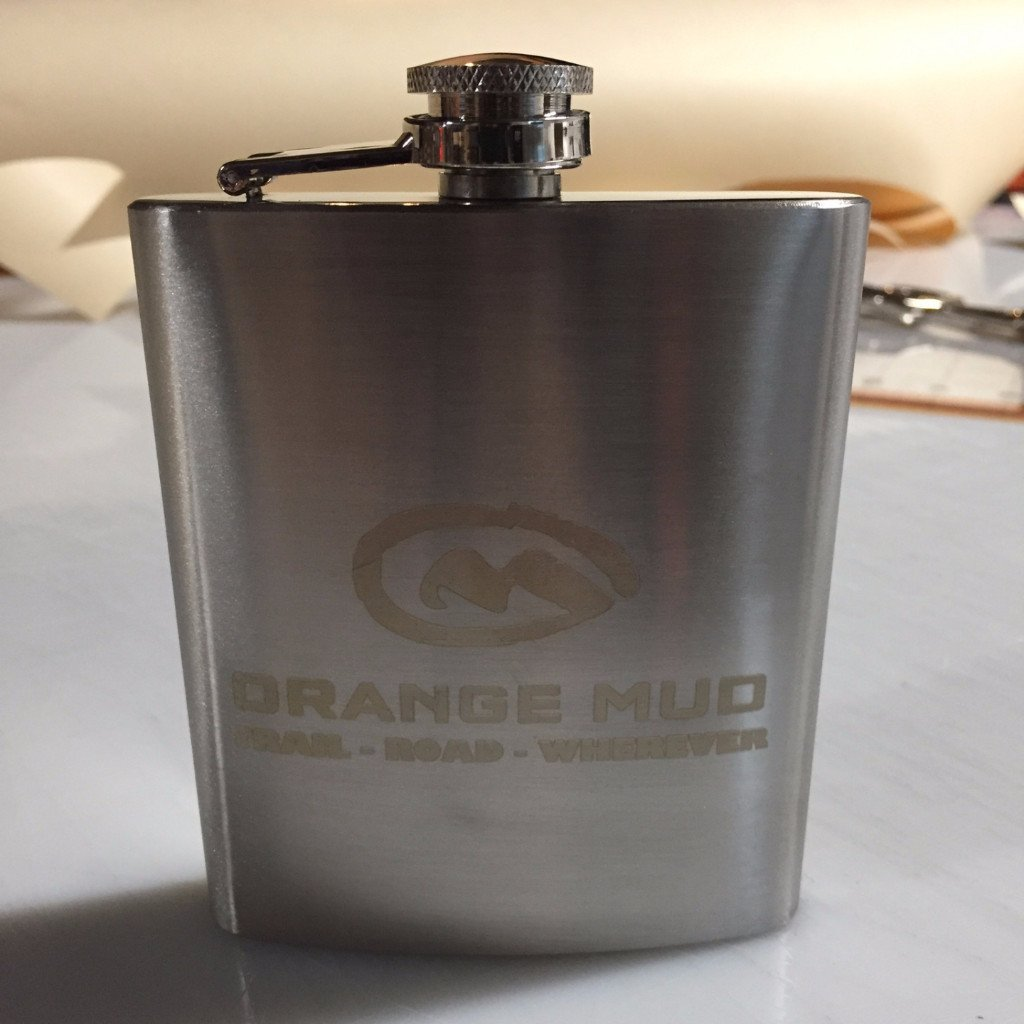 Orange Mud 7oz Stainless Steel Flask - Accessories
