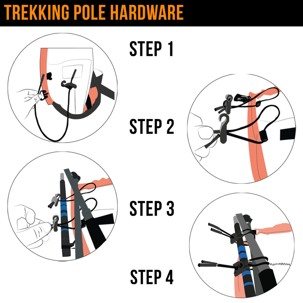 Multi Use Trekking Pole Hardware - Accessories