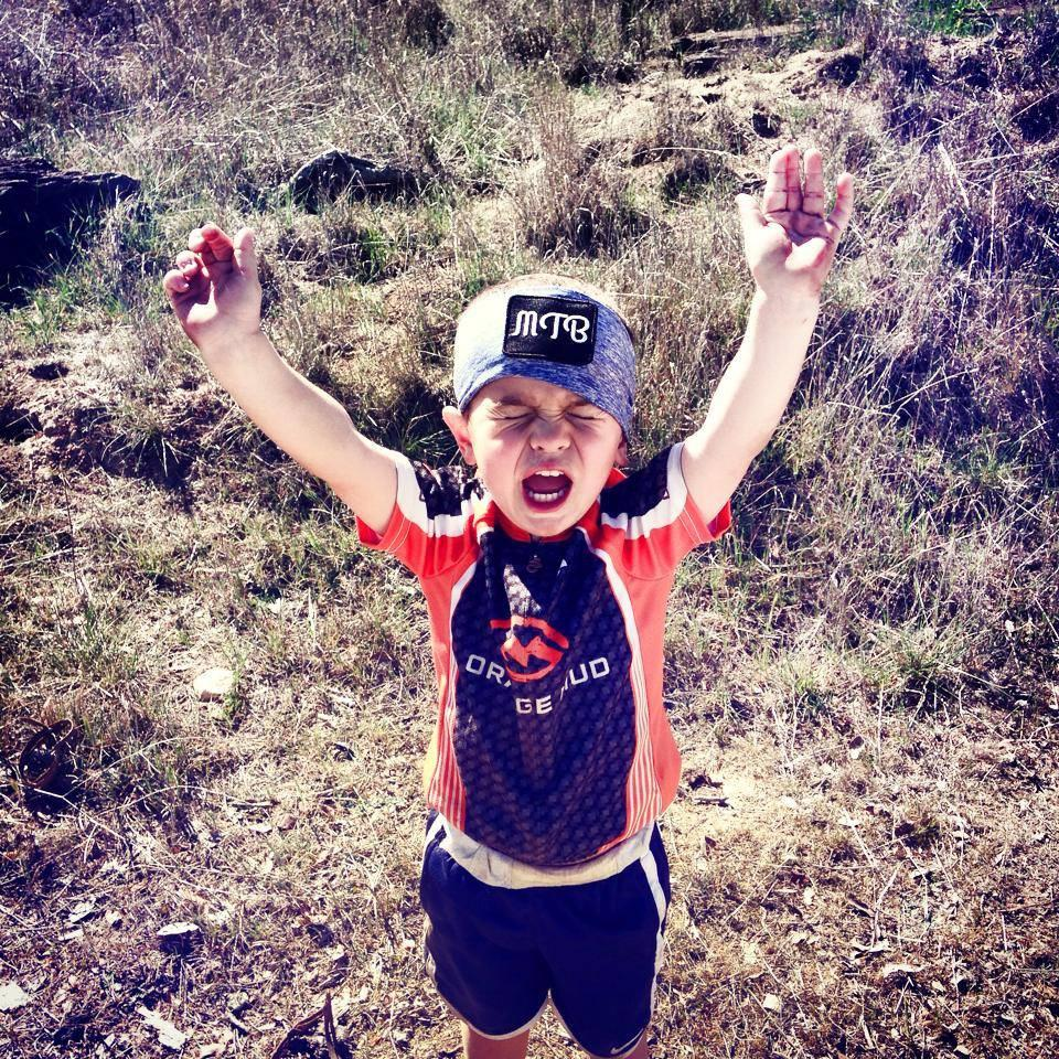 Children's Cycling Jersey - Orange Mud, LLC