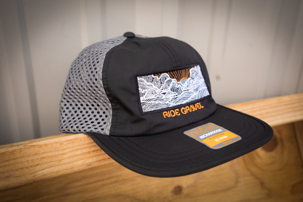 Ride Gravel 6 Panel Curved Bill Snapback