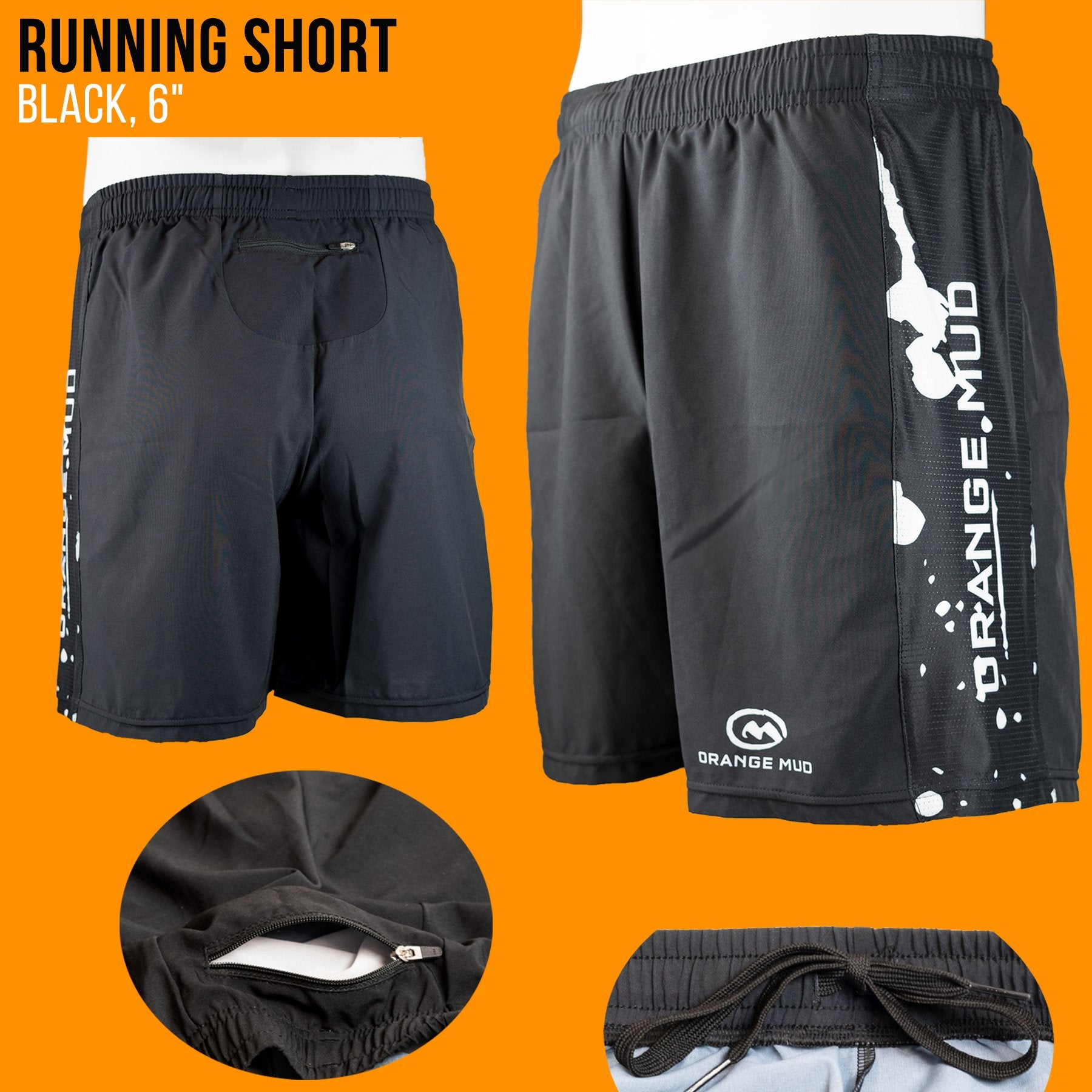 Running Short 3 different length options
