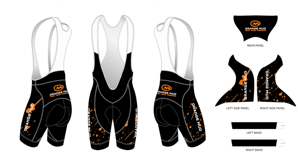 Orange Mud Cycling Bib