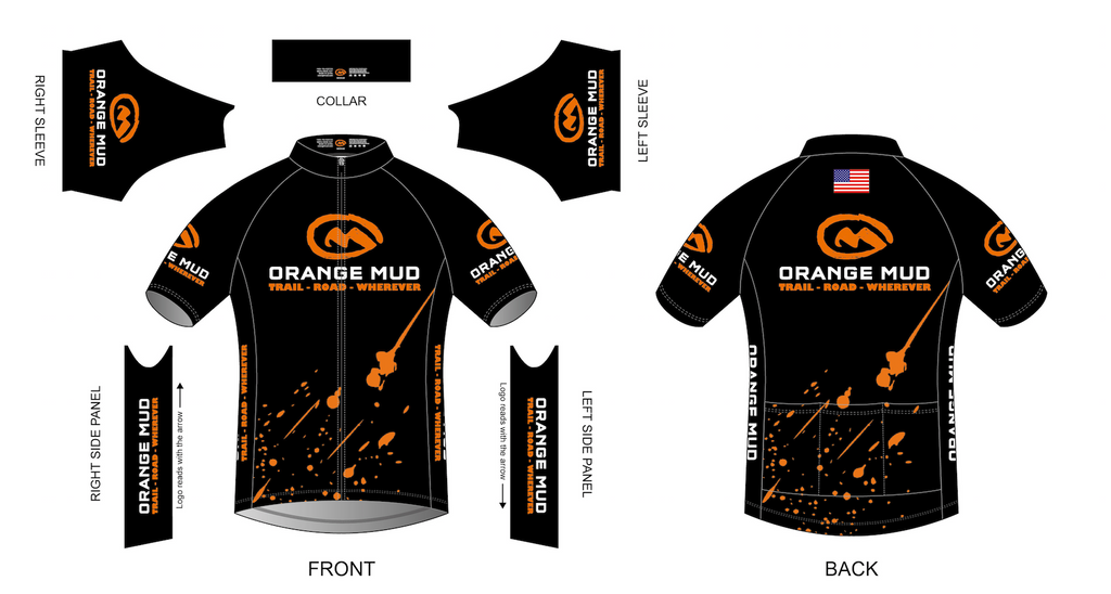 Orange Mud Cycling Jersey - Race Cut - Accessories
