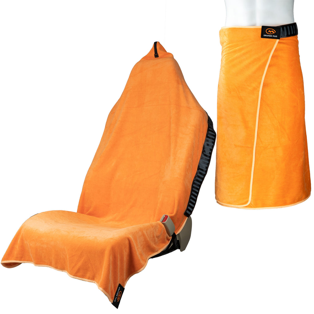 "Seconds of the Orange Transition Wrap Extreme: ""Waterproof"" Version"