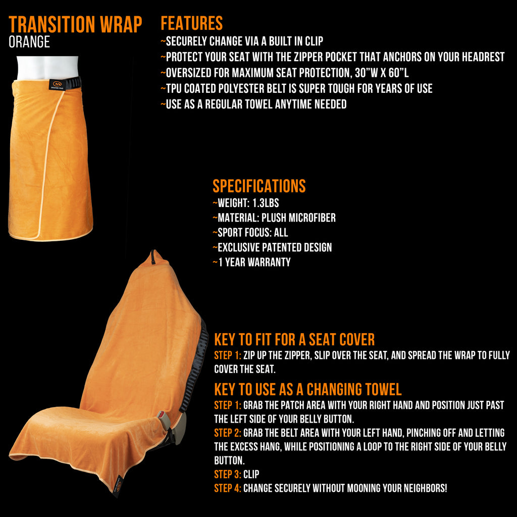 Transition Wrap 2.0: Changing Towel and Seat Cover