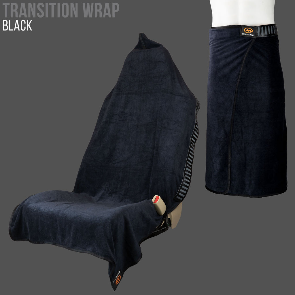Transition Wrap 2.0: Microfiber Gym Towel Seat Cover for Athletes Car Seat Cover - Accessories