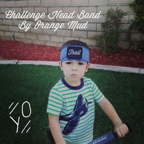 Challenge Head Band by Orange Mud