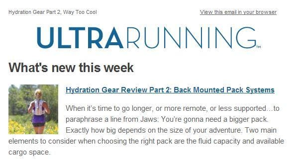 Hydration Gear Review Part 2: Back Mounted Pack Systems