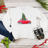 Christmas Holiday Plus Size Long Sleeve Women's Autumn Sweatshirts