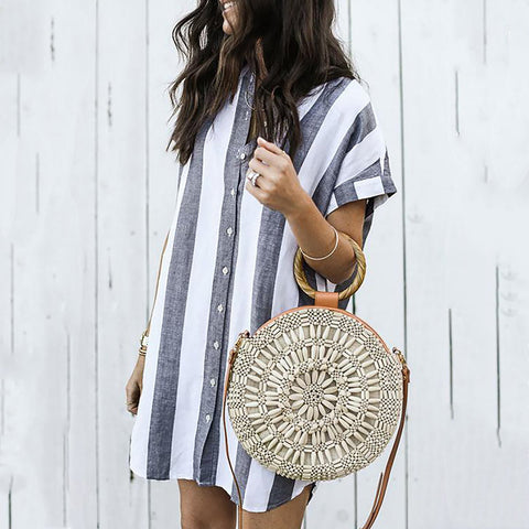 Casual Striped Summer Dress