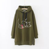 Autumn Drawstring Plus Size Long Sleeve Casual Hoodie