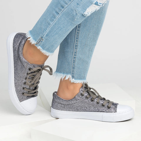 Women's Plus Size Autumn Casual Sneakers