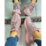 Women's Breathable Lace-Up Sneaker