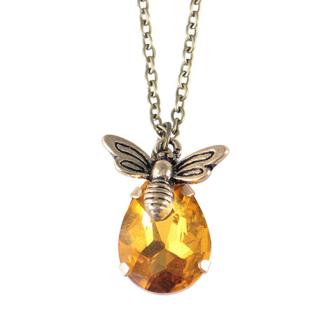 Creative Insect Bee Necklace