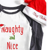 Naughty and Nice Printed Christmas Holiday Women's Autumn Sweatshirts