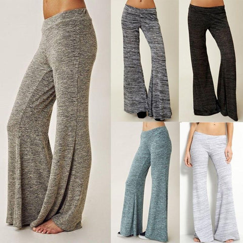 Women Loose Pants Simple Soft Long Trousers