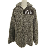 Dog Mom Plus Size Casual Women's Winter Sweater