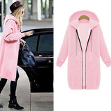 Women Casual Plus Size Outerwear Coat