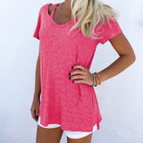V-Neck Retro Casual Loose T-Shirt