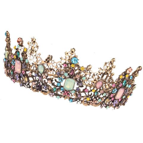 Candy Colorful Queen Crown