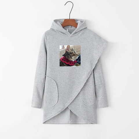 Loose Autumn Long Sleeve Women Hoodie
