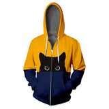 Cat Unisex Autumn Plus Size Hoodie