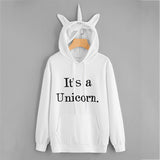 It's A Unicorn Long Sleeve Hoodie