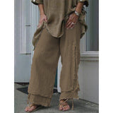 Plus Size Women Fashion Casual Pants