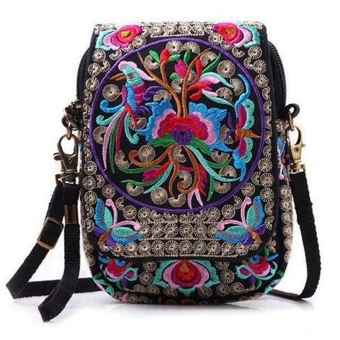 Boho Ethnic Embroidered Vintage Small Bag